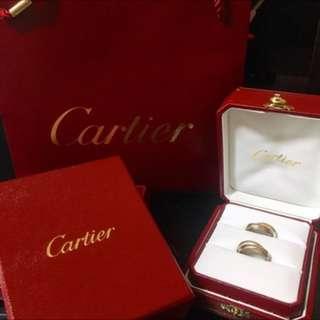 🚚 Cartier卡地亞經典三環戒