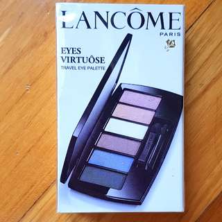 Lancome Eyes Virtuose Travel Eye Shadow Palette brand new sealed