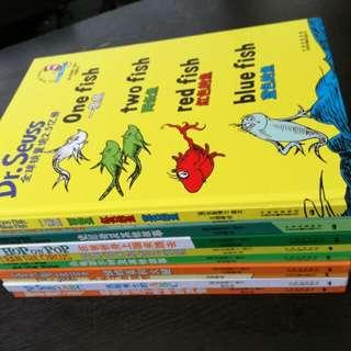 Bilingual Dr Seuss bookset