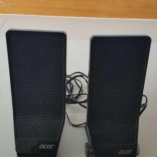 Acer USB Powered PC Speaker MS1238US
