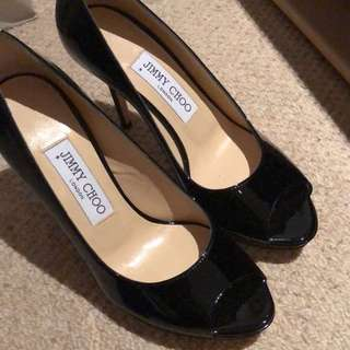 Jimmy Choo Black Pumps size 36 heels shoes