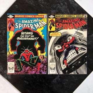 The Amazing Spider-Man #229-230
