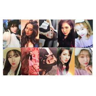 [WTS/INCOMING STOCK] RED VELVET BAD BOYS OFFICIAL PHOTOCARS