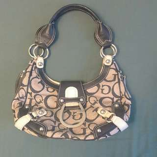 Authentic guess handbag preloved