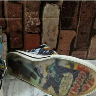 READY CONVERSE ALL STAR MARVEL UNAUTHORIZED AUTHENTIC (UA)  SIZE 40-44 STOCK TERBATAS