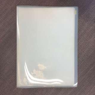 A3 Clear Pocket Folder (20 Pockets)
