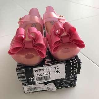 Mini Melissa Shoes brand new