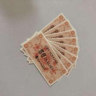 $400 Takashimaya Vouchers