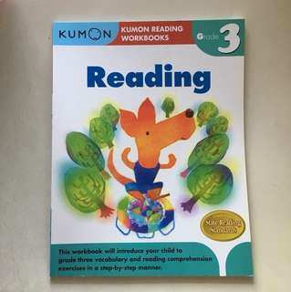 Brand new Kumon Reading Workbook Grade 3