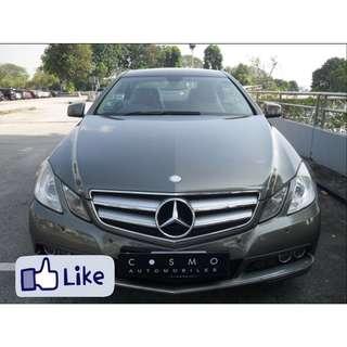 Mercedes-Benz E250 Saloon Auto