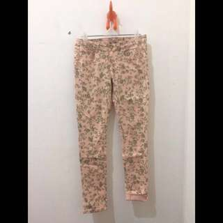 *repriced* Colorbox Floral Skinny Soft Jeans