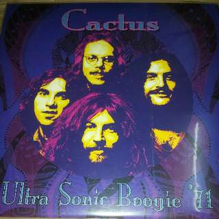Vinyl Record / 2xLP: Cactus –Ultra Sonic Boogie '71 - CLP 6804