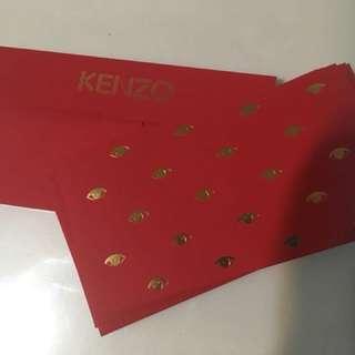 Kenzo眼仔利事封,每盒10個,兩盒共售$160