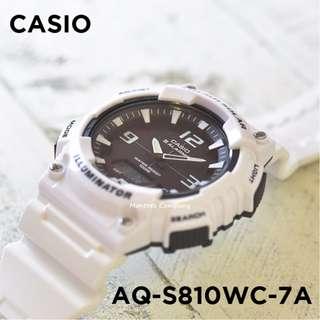 Montres Company香港註冊公司(25年老店) CASIO standard AQ-S810 AQ-S810WC AQ-S810WC-7 AQ-S810WC-7A 三隻色都有現貨 AQS810 AQS810WC AQS810WC7 AQS810WC7A