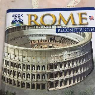 Rome book with cd