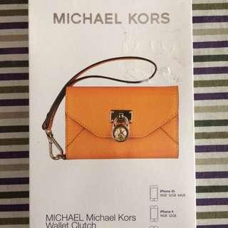 Michael kors wallet clutch cellphone case