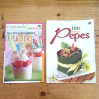PAKET: Buku resep 15ribu/2pcs