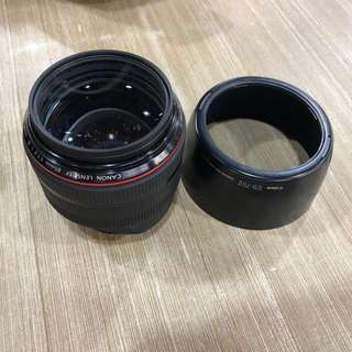 Canon EF 85mm f1.2 L Mark 2 USM