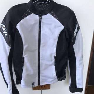 Women's shift motorbike jacket