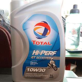Engine Oil TOTAL SCOOTER sae 10w30