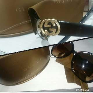 Preloved authentic GUCCI women sunglasses