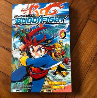 Buddy Fight comic 1st issue