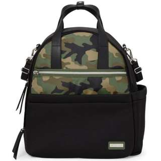 Skip Hop Nolita Neoprene Diaper Backpack - Black Camo