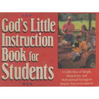 FREE Postage God's Little Instruction Book For Students Christian Guide