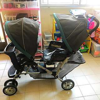 Graco Duoglider Twin Stroller