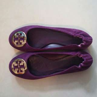 Tory Burch ballet suede flat