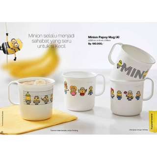 Gelas Minion - Tupperware