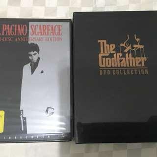 Al Pacino DVDs - Original