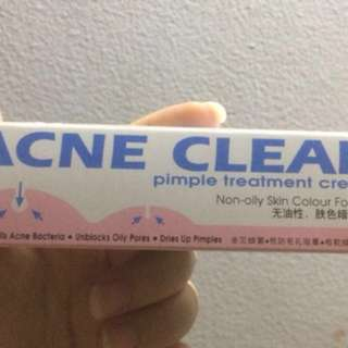 Acne clear (obat jerawat)