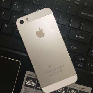 Iphone 5S Silver 16gb FU *FREE 6pcs Phone case
