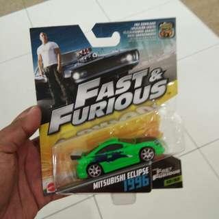 Hotwheels Fast & Furious