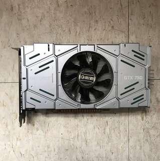 壞-影馳GTX 750 2G DDR5