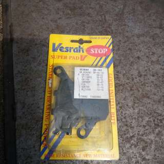 Brake pad Versys 650 2015 above