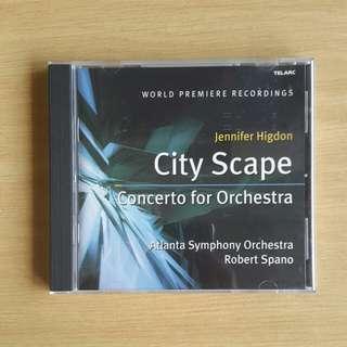 Jennifer Higdon: City Scape, Concerto for Orchestra