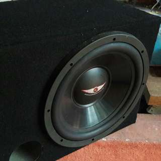 Set woofer complete! Power Amp,Equalizer,woofer 1500watt