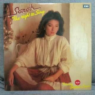 arthlp SARAH CHEN 陈淑桦 The Right To Sing LP 黑膠唱片 Vinyl Record