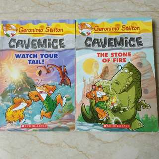 [CLEARANCE] Geronimo Stilton - Cavemice Series