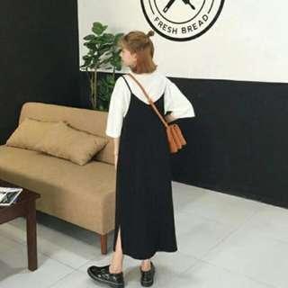 黑色連身裙#大掃除五折