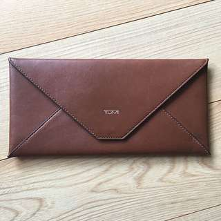 TUMI: Leather Pouch