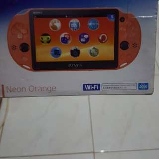 PSVITA 2006 free 8gb memory card + onepiece burningblood game + gelly case and pouch