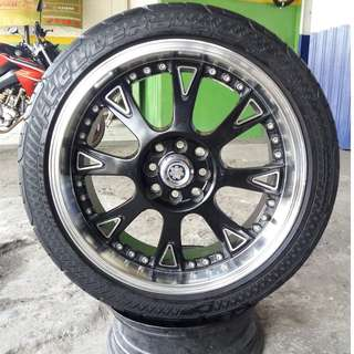 velg racing scarlet