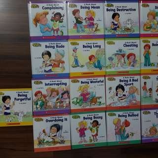 Books on behaviour learning for kids. 29 books set
