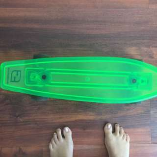 Sideways Penny Skateboard Green