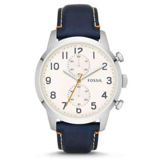 Valentine's Day | Chinese New Year - Fossil Men's Watch (Navy Blue)