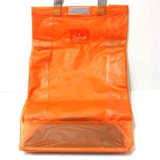 折疊式購物車-橘