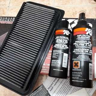 K&N Air filter for Mazda Miata MX-5